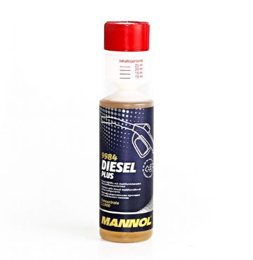 MANNOL 9984 Diesel Plus fuel additives 250 ml cleans the injection nozzles